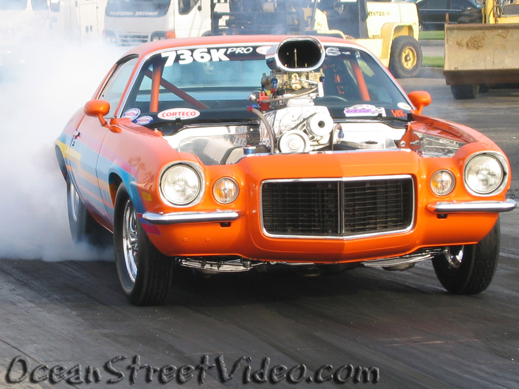Street Car Racing: Pacific Street Car Association Drag Racing